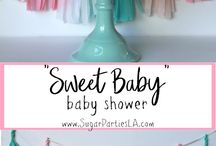 Girl Baby Shower Ideas / Baby shower themes for a baby girl. Baby shower food, favors, games ideas, invitations, printables, gift ideas.