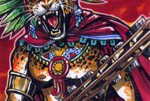 Cultura Azteca Mayas Nativos Americanos