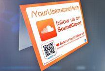 SoundCloud Stickers & Marketing Materials / SoundCloud