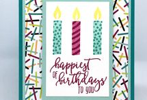 Stampin Up Picture Perfect Birthday