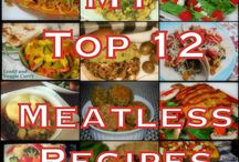Meatless recipes / by Danielle Stack