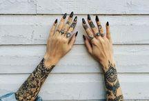 hand tattoos ❤