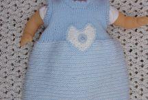 tricots modèles poupées