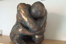 sculpture de grès