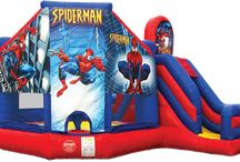 Bouncy Castle Rentals / We offer a large variety of bouncy castles for Toronto, Mississauga, Brampton, and it's surrounding cities.
