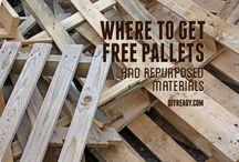 Wood works pallets