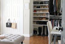 Closet sencillo dama con zapatero