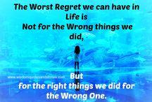 ❤ Regret Quotes ❤