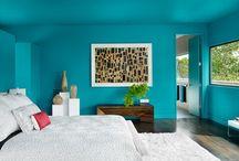 53 Hauptschlafzimmer Mit Blauen Wänden
