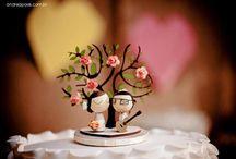 Topos de bolo / Topos de bolo para casamentos