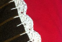 Virka kanter ... crochet edging