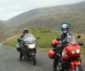 L'Ecosse en moto