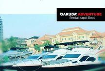 Rental Kapal Boat / Rental kapal boat untuk kepulauan seribu jakarta - Garuda Adventure - call 08777-349-0007 - http://boat.garudaadventure.com