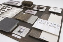 Material mood boards & material presentation