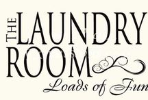 At Home: Laundry Room / by Junkin' J