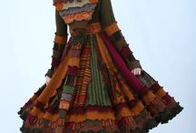 Dress patchwork