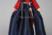 Korean Doll-HANBOK-Korean traditional style