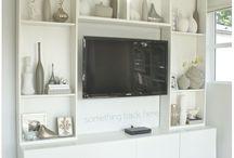 TV cabinet for builder