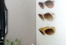 organizing for sunglasses