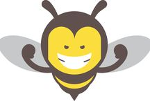 Beekeeper: an illustrated card game for kids.