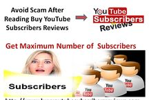 Buyyoutubetsubscribersreviews / Video Marketing is one of the most efficient ways for business promotion. Having a lot of subscribers to your account will help your videos to rate with the search engines simply because you will be receiving more views. Here you can read reviews of genuine firm and select the best firm to buy YouTube subscribers service at the best price. For more info: http://www.buyyoutubesubscribersreviews.com/