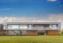 Casas modernas que armonizan con el paisaje