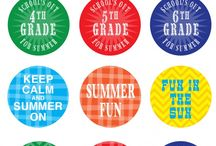 Candy sticker labels