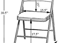 Folding chair covering sizes