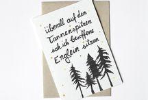 Inspiration // Karten