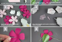 flor d papel