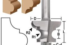 Edge Forming / Here you can find the router bits you need to create the prefect edge design on your woodworking projects. This category has many of the traditional router bit profiles such as chamfer bits, bull nose bits, ogee bits and cove bits. It also has a wide selection of specialty edge profiles for table edges, handrails, and window or door trim to give you that perfect edge profile you are looking for.