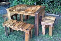 palllets and more pallets / by Maaggie Owens