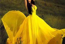 yellow elegant