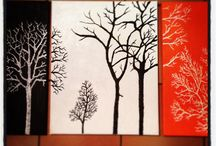 My own paintings / My own personal paintings. Going to start taking requests soon and gonna start selling some to :)