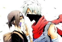 Rin x Kakashi / In this board you can tell us your ideas(about conversations) down the comments and we will try to make them