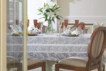 Novidades Karsten Mesa / Toalhas de mesa das linhas Celebration, Cada Dia, Sempre Limpa e Ecobela.