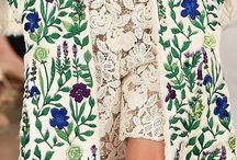 Inspiration motif floral et végétal / Floral pattern, flower illustration and flowers photography / We love floral patterns and we love even more sharing with you
