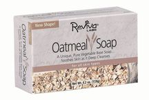 Reviva Labs Soaps / One of the most important steps in keeping your skin healthy and beautiful is getting it clean, without stripping away moisture or leaving an undesirable residue. Reviva's all-natural soaps provide gentle cleansing, with a 100% vegetable base... and no animal ingredients like many other soaps.