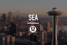 local guide: Seattle / A local city guide, handpicked by our local team. Our favourite places to sweat, eat, drink and spend our days. / by lululemon