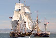 SF Bay Tall Ships / Tall Sailing Sips on San Francisco Bay