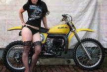 Motorad-Frauen