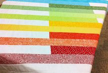 Rainbow quilt / by Catherine Gagnon