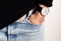 The Parisian in blue jeans... / Chic and very Parisian style... / by Virginie c'est Chic!