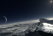 Recreaciones artísticas del Sistema Solar