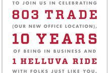 Our Anniversary / Happy birthday to us!  It was ten years ago today that Fifth Letter's doors were opened for the first time. Come help us celebrate and get a tour of our new office space this Friday:  bit.ly/fifthletter