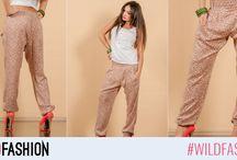Pantaloni / Pentru situaţiile în care ai nevoie de libertate de mişcare, în colecţia de pantaloni de damă Wild Fashion vei găsi alternativa potrivită.