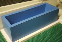 moldes de silicone e resina