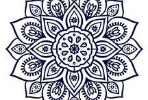 Mandalas / For Sashiko designs