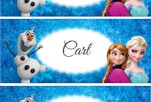 Frozen Party Theme Printables / Frozen Party Theme Printables
