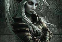 Dark Elves / My secret love for Drow.